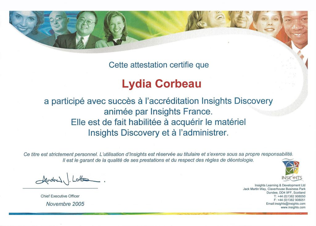 Certification Insights Discovery